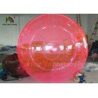 Quality Good Quality Red PVC / TPU 2m Inflatable Water Ball YKK Zipper From Japan wholesale