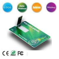 Quality Free Sample Credit Card USB Flash Drive wholesale