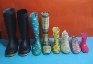 Quality Various PVC Rain Boots (23-35#(kid) , 36-42# (lady) , 37-46 (gent)) wholesale
