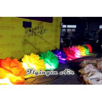 Buy cheap Customized Inflatable Led Flower Chian with Light for Concert and Wedding Night product