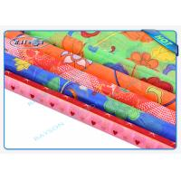 Quality Multi - Color Printing Embossed Spunbond Non Woven Fabric Anti - Bacterial wholesale
