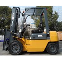 China 2 T counter balance disel industrial forklift seat fork lift truck with ISUZU C240 engine on sale