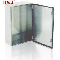 China IP66 Stainless Steel Electrical Enclosure Boxes Full Welded Brushed Finish on sale