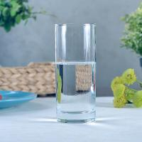 China Straight Side Glass Drinking Glasses 340ml 12oz Great For Patio / Poolside on sale