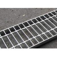 Quality 30 X 3 Concrete Steel Grating Drain Cover Hot Dip Galvanized Surface wholesale
