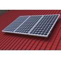Roof Solar Mounting Aluminium Profile System , Custom Aluminum Extrusions for sale