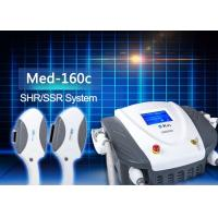 China Med - 160c Hair Removal SHR / SSR Skin Tightening Machine For Salon on sale