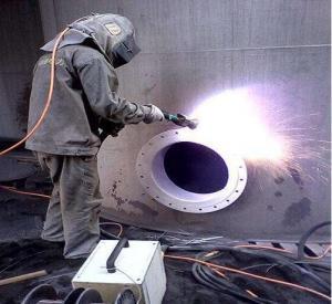 China nickel chromium alloy wire  coating  arc spray coating machine,  zinc aluminum metal alloy  wire arc  coating equipment on sale