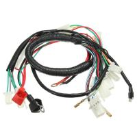 Quality Original Car Alarm Headlight Wire Harness For Motorcycles With Relay Fuse wholesale