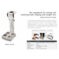 China Health Body Fat Composition Machine , Body Analysis Machine Touch Screen on sale