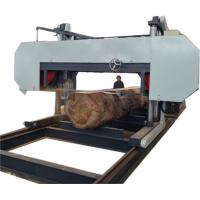 Buy cheap Large Size Saw Mill, Wood Mill Heavy Duty Bandsaw, Log Sawing Horizontal Cutting Machine from wholesalers