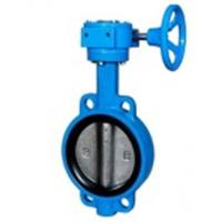 Quality Zero Leakage Centerline Butterfly Valves Wafer Gearbox Operated Feature wholesale