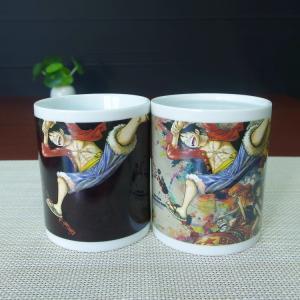 China LUFFY milk tea drinking color changing magic coffee mug AB/ABC on sale
