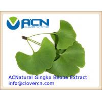 China ACNS00211 Ginkgo Biloba Extract(GBE) 24% Flavoneglycosides, 6% Terpene Lactones Ginkgo Biloba E | A Clover Nutrition Inc on sale