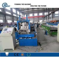 Quality Steel Profile Sizes Stud And Track Roll Forming Machine With Changeable Cutting Blades wholesale