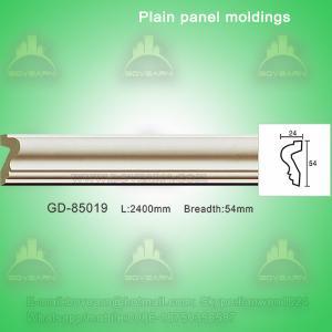 Quality European style Environmental Decorative PU Plain Panel mouldings wholesale