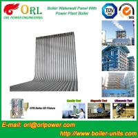 Quality 35 Ton Petroleum Steam Boiler Water Wall Tubes ORL Power SGS With Hot Water wholesale
