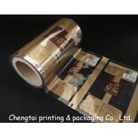 Quality Transparent Food Packaging Rollstock Film for Packing Bread , Sugar wholesale