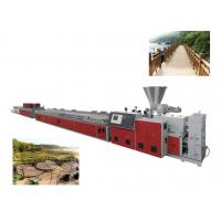 Quality High Efficiency Industrial WPC Machine For wood & plastic extrusion making line wholesale
