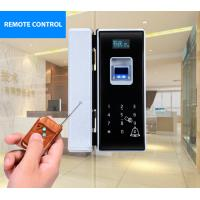 Quality Silver Fingerprint Entry Door Lock , Card Finger Scan Door Lock Long Battery Life Span wholesale