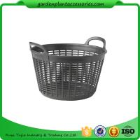 "Quality Flexible Small Outdoor Basket Planter 9-1/2"" in diameter x 8"" H overall wholesale"