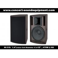 "Quality 1.4"" + 15"" Sound Equipment /  475W Full Range Speaker For DJ And  Installation In Disco, Nightclub , Church wholesale"
