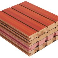 Quality Fireproof Veneer Sound Absorbing Boards For Walls And Ceilings 2440mm * 133 mm wholesale