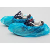 China CPE Disposable Surgical Shoe Covers , Plastic Shoe Covers For Laboratory on sale