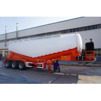 China TITAN VEHICLE 3 axles 55 cbm bulk loading unloading cement truck trailer for sale on sale