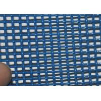 White / Blue Polyester Mesh Belt For Fiber Board Plants 05902 , 1- 6 Meter