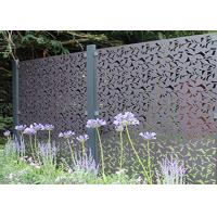 China Rectangular / Square Stainless Steel Decorative Panels Various Material Available on sale