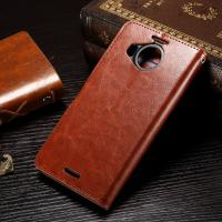 Quality Nokia 950XL Nokia Lumia Leather Case Anti - Dirty Light Weight Crazy Horse Material wholesale