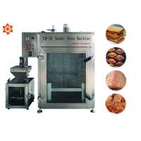 China Meat Fish Smoking Automatic Food Processing Machines Professional Sausage Oven on sale