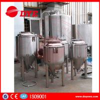 Quality Durable Beer Brewing Equipment Conical Fermenter 50mm 80mm 100mm Thickness wholesale