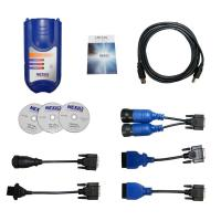 Quality NEXIQ 125032 USB Link Heavy Duty Truck Diagnostic Scanner With All Installers wholesale