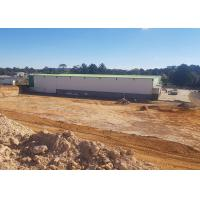 Cheap Australian multi-span with 10Tons crane steel structure sheds for rent for sale