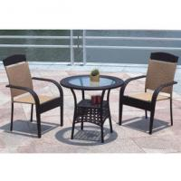China Leisure patio furniture rattan table and chair on sale