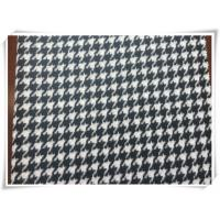 Quality Hound Tooth Wooly - Bully Puppy Tooth Tartan Wool Fabric For Winter wholesale