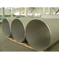 China Nickel-Iron-Chromium Alloy Welded Pipe Incoloy 800 / UNS N08800 / 1.4876 ASTM B514 on sale