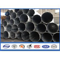 Quality 60FT / 18288MM Polygonal industrial light poles electrical pole accessories Easy install wholesale