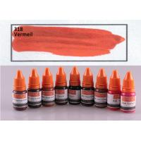 China Vermeil Color Pigment Tattoo Ink Non Toxic 10ml Cosmetic Grade on sale