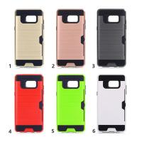 Quality Samsung Note 8 Case Credit Card  Holder Case Cover Hard Plastic TPU Hybrid Shockproof Cover Case For Samsung Note8 wholesale
