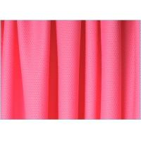 Quality Pink 4 Way Customized Polyester Spandex Stretch Mesh Fabric for Outdoor Cloth , Interlining wholesale
