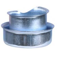 "Quality Compact  3/8""-4 Inch Flexible Conduit Fittings Steel Ferrule Dust Resistant wholesale"
