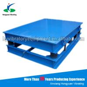 Quality Henan electric concrete vibrator Small Vibrating Table for sale wholesale