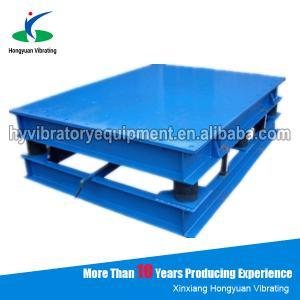 Quality Vibration table for concrete moulds / electronic vibration platform wholesale