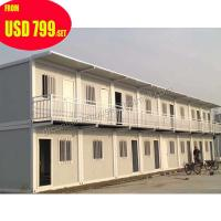 Quality prefabricated 20ft mobile office european container house luxury wholesale