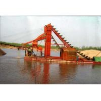 Quality high-automation bucket chain type gold dredging vessel wholesale
