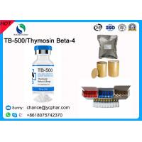 China GMP Standard Peptide TB500/TB-500 For Muscle Building Thymosin Beta-4 CAS 75591-33-4 For Ablative Rejuvenation on sale