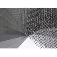 Quality SS 316 304 Stainless Steel Wire Mesh / Woven Wire Mesh Panels Solvent Resistant wholesale